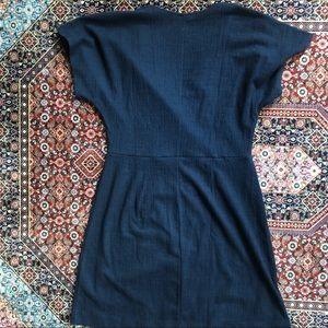 Madewell Dresses - NWT Navy Wrap Madewell Dress